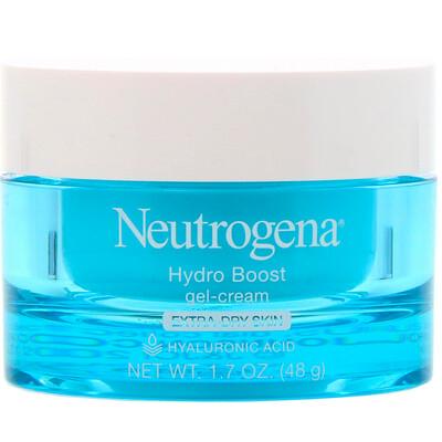 Купить Neutrogena Hydro Boost, увлажняющий гель-крем, для очень сухой кожи, без отдушки, 48 г (1, 7 унции)