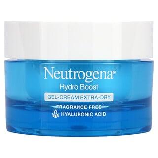 Neutrogena, Hydro Boost, crema en gel para piel ultra seca, sin fragancia, 1.7 oz. (48 gr.)