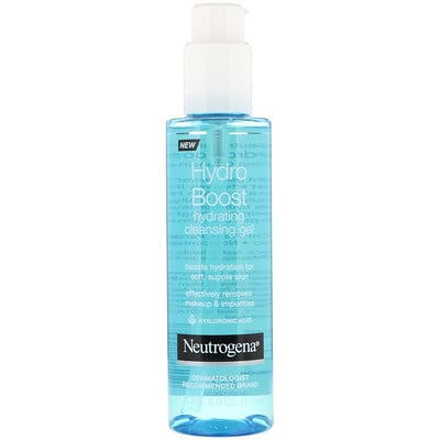 Купить Neutrogena Hydro Boost, увлажняющий очищающий гель для лица, 170г (6унций)