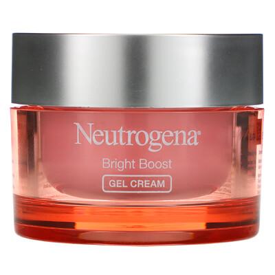 Купить Neutrogena Bright Boost, Gel Cream, 1.7 fl oz (50 ml)