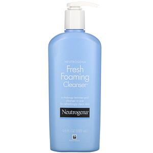 НьютроДжина, Fresh Foaming Cleanser, 9.6 fl oz (283 ml) отзывы