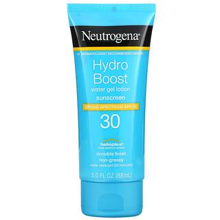 Neutrogena, Hydro Boost, Water Gel Lotion, SPF 30, 3 fl oz (88 ml)