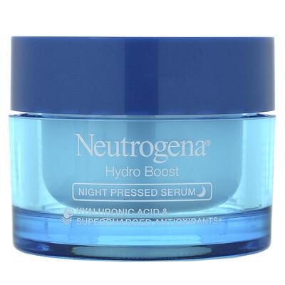 Купить Neutrogena Hydro Boost, Night Pressed Serum, 1.7 oz (48 g)