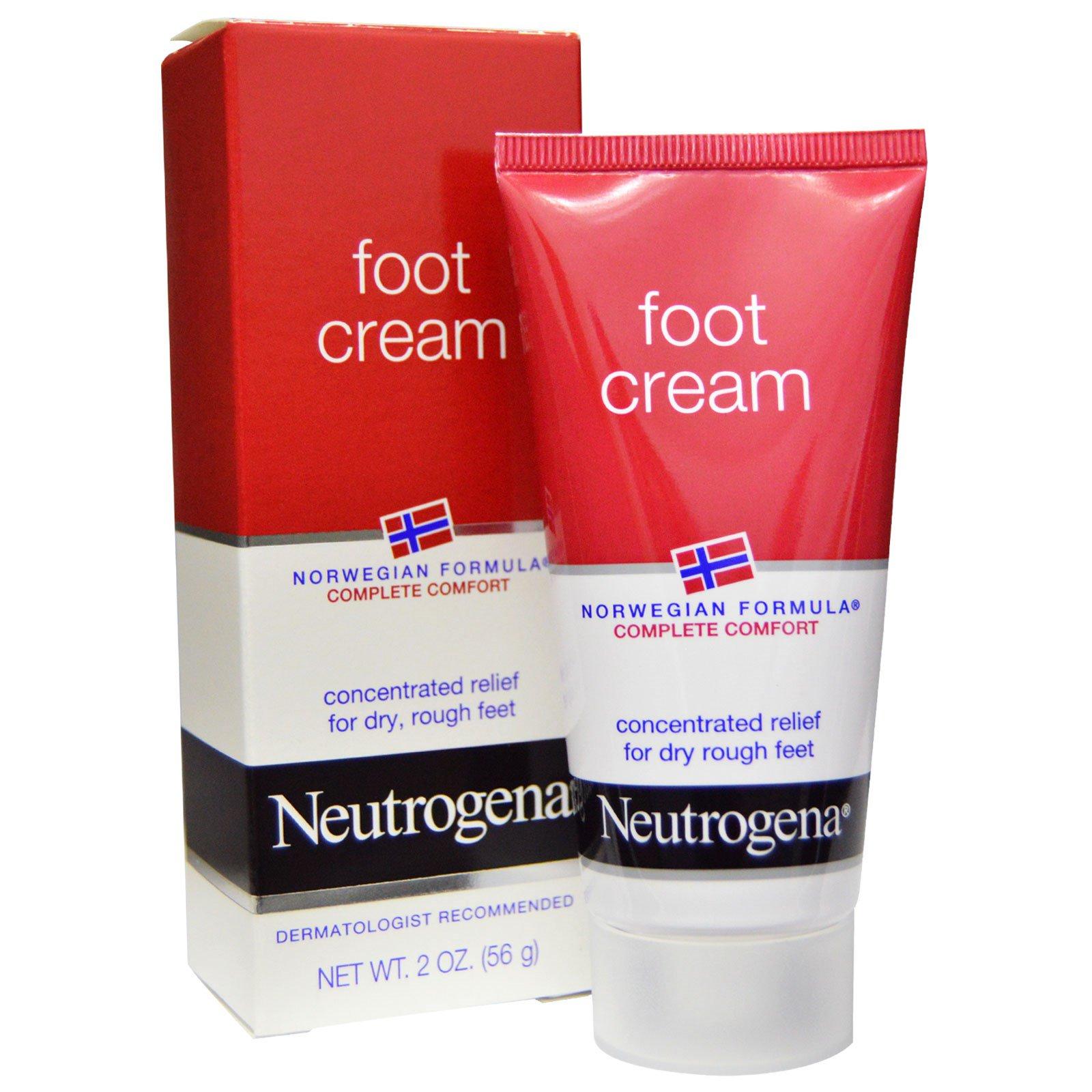 Neutrogena, Крем для ног, 2 унции (56 г)