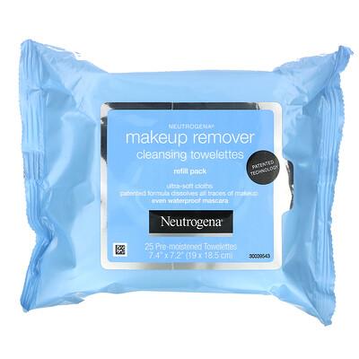 Neutrogena Makeup Remover Cleansing Towelettes, 50 Pre-Moistened Towelettes  - купить со скидкой