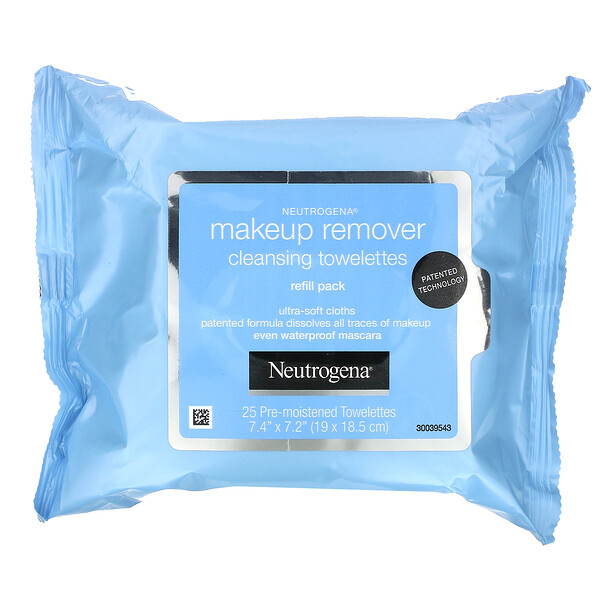 Makeup Remover Cleansing Towelettes, 50 Pre-Moistened Towelettes