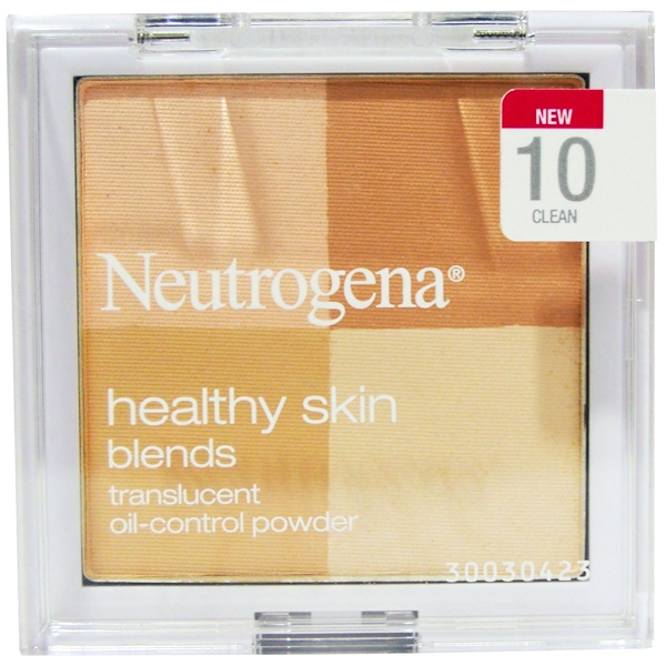 Neutrogena, Healthy Skin Blends, Translucent Oil-Control Powder, 10 Clean, 0.30 oz (8.48 g) (Discontinued Item)