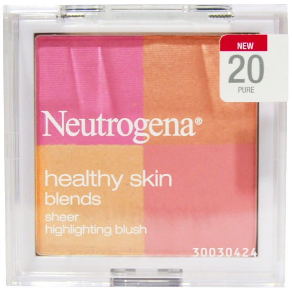 Neutrogena, Healthy Skin Blends, Sheer Highlighting Blush, 20 Pure, 0.30 oz (8.48 g) (Discontinued Item)