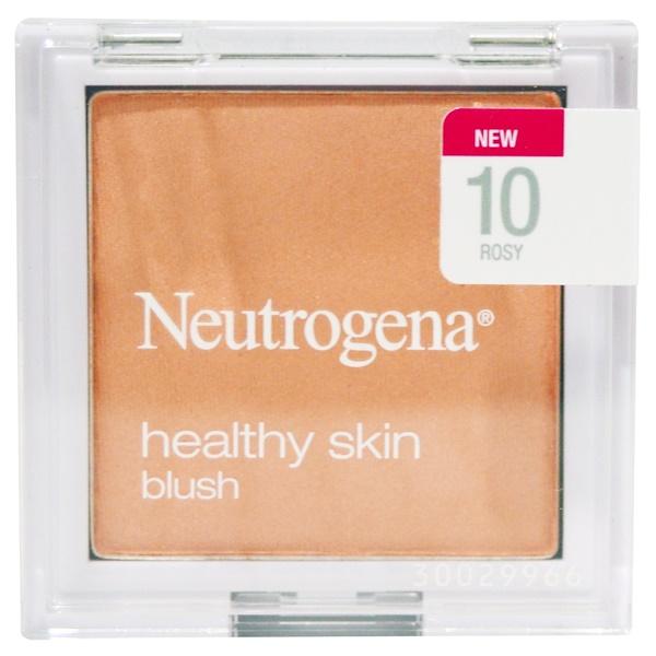 Neutrogena, Healthy Skin Blush, Rosy 10, 0.19 oz (5.26 g) (Discontinued Item)