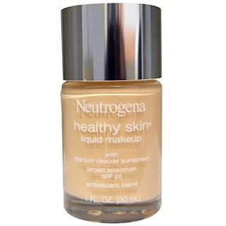 Neutrogena, ヘルシースキン・リキッドメイクアップ、 クラシックアイボリー 10、 1 液量オンス (30 ml)