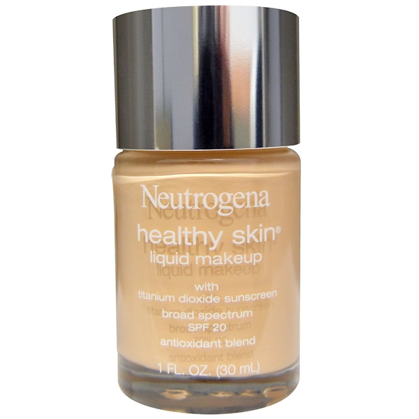 Neutrogena, Healthy Skin Liquid Makeup, Classic Ivory 10, 1 fl oz (30 ml)