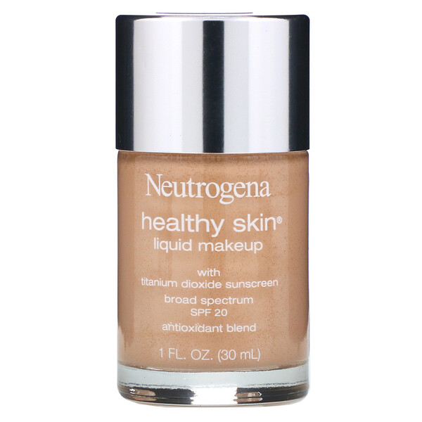 Neutrogena, Healthy Skin Liquid Makeup, SPF 20, Classic Ivory 10, 1 fl oz (30 ml) (Discontinued Item)