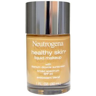 Neutrogena, ヘルシースキン・リキッドメイクアップ、 ナチュラルベージュ 60、 1 液量オンス (30 ml)