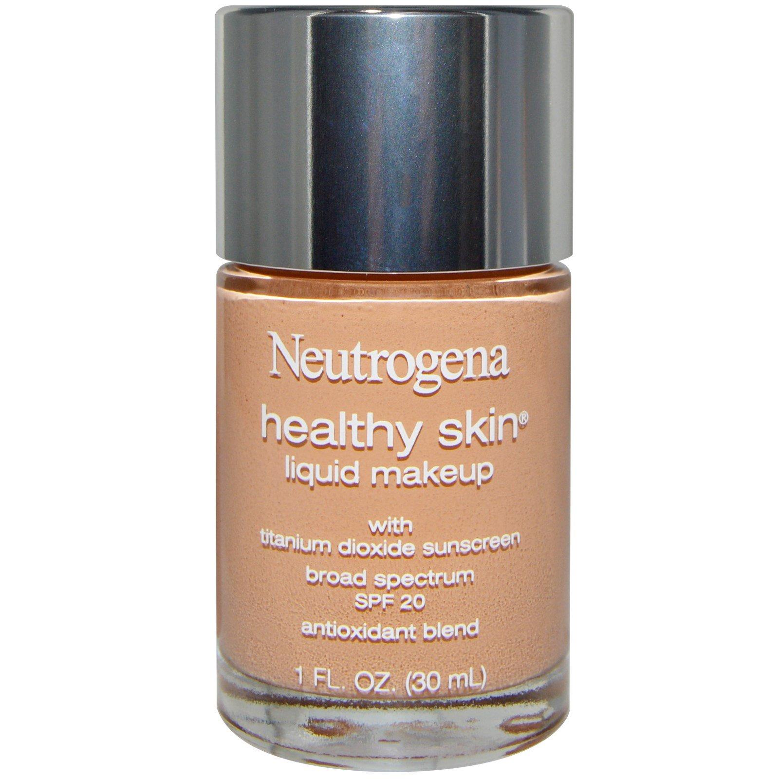 Neutrogena здоровая кожа жидкий макияж отзывы