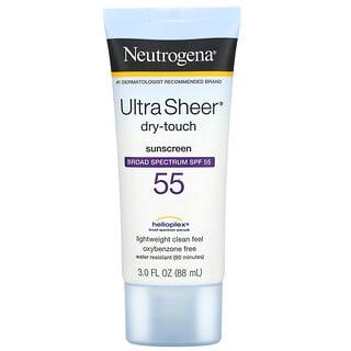 Neutrogena, Protetor Solar Ultra Sheer Dry Touch, FPS 55, 88 ml (3,0 fl oz)