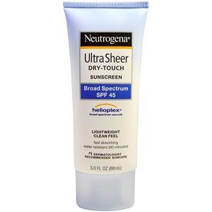 НьютроДжина, Ultra Sheer Dry-Touch Suncreen, SPF 45, 3.0 fl oz (88 mL) отзывы покупателей