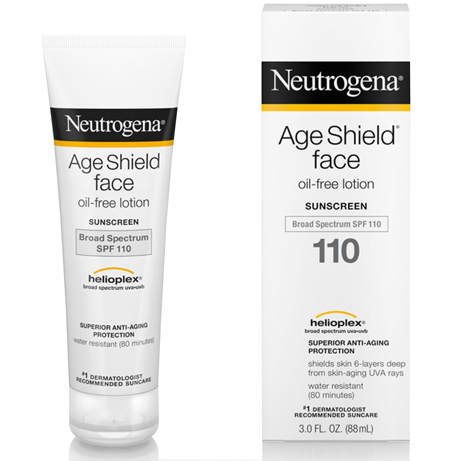 58b4243f9 Neutrogena, Age Shield Face، واقي شمس خالي من الزيت، معامل حماية ...