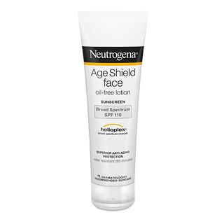 Neutrogena, Age Shield Face, Oil-Free Sunscreen, SPF 110, 3 fl oz (88 ml)