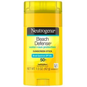 НьютроДжина, Beach Defense, Sunscreen Stick, SPF 50+, 1.5 oz (42 g) отзывы