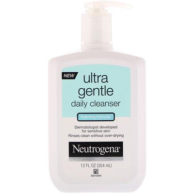 Купить Neutrogena Ультрамягкое средство для ежедневной чистки лица, пенящееся, 12 ж. унц. (354 мл)