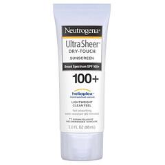 Neutrogena, Ultra Sheer, не оставляющий следов солнцезащитный крем с SPF 100+, 3 жидкие унции (88 мл)