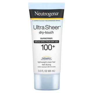Neutrogena, Ultra Sheer Dry-Touch Sunscreen, SPF 100+, 3 fl oz (88 ml)