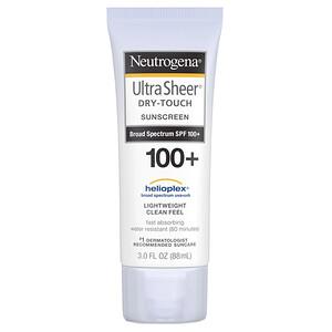 НьютроДжина, Ultra Sheer, Dry-Touch Sunscreen SPF 100+, 3 fl oz (88 ml) отзывы покупателей