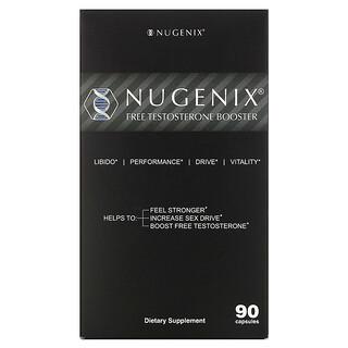 Nugenix, Free Testosterone Booster, 90 Capsules