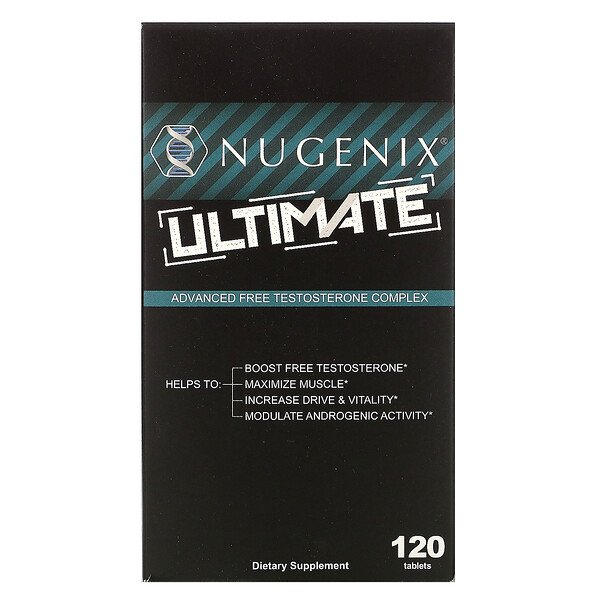 Ultimate, Advanced Free Testosterone Complex, 120 Tablets