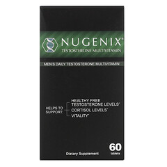 Nugenix, 男性專用日常睾酮複合維生素,60 片裝