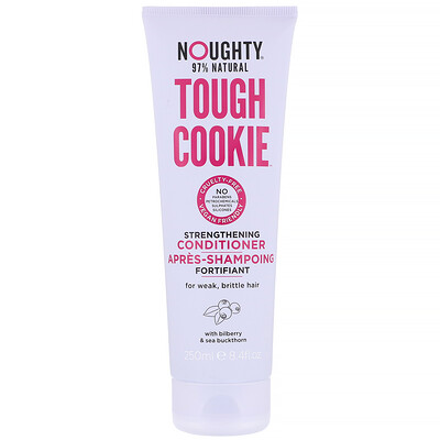 Купить Noughty Tough Cookie, Strengthening Conditioner, For Weak, Brittle Hair, 8.4 fl oz (250 ml)