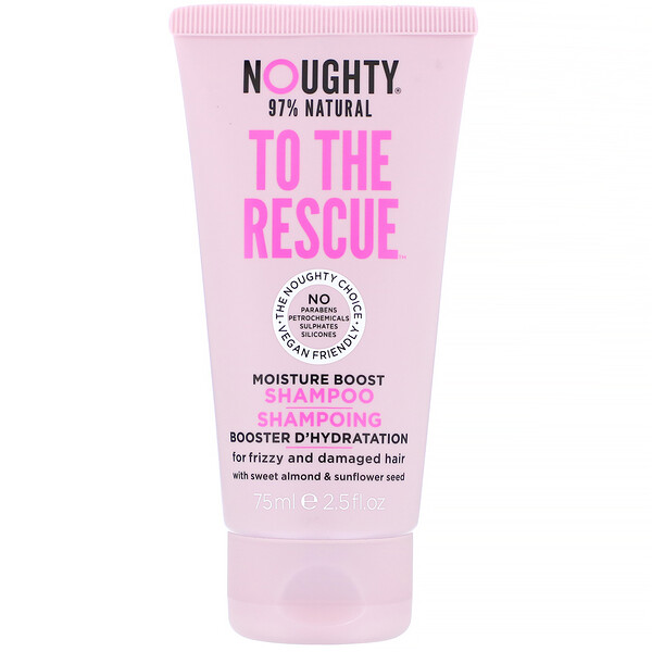 To The Rescue, Moisture Boost Shampoo, For Frizzy and Damaged Hair, 2.5 fl oz (75 ml)