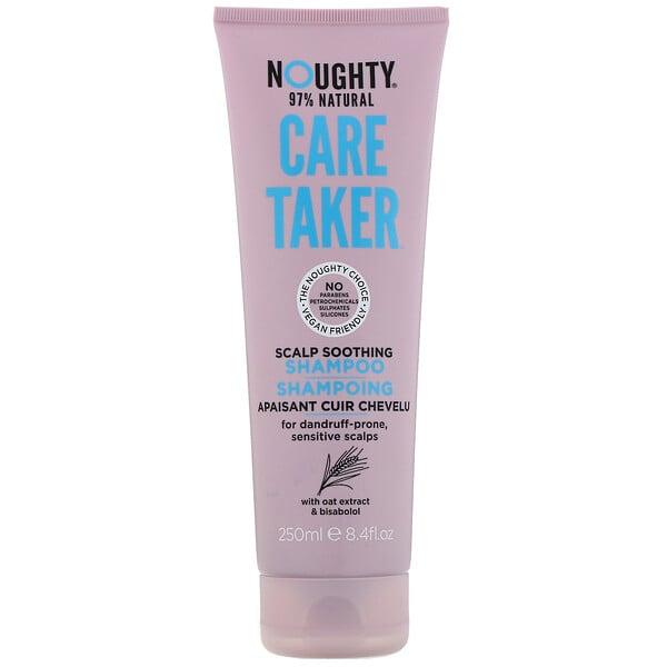 "Noughty, Care Taker, שמפו להרגעת הקרקפת Scalp Soothing Shampoo, נפח 250 מ""ל (8.4 אונקיות נוזל)"