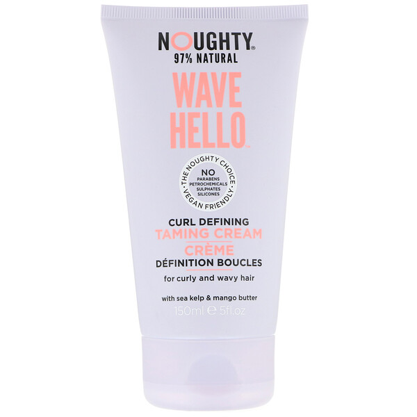 Wave Hello, Curl Defining Taming Cream, 5 fl oz (150 ml)