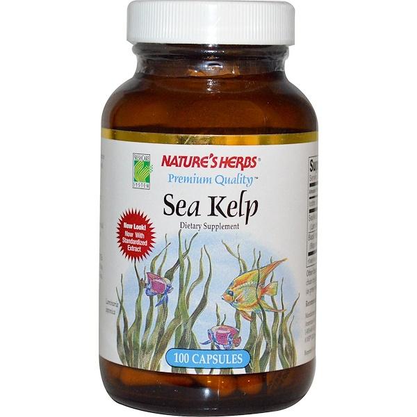 Nature's Herbs, Sea Kelp, 100 Capsules (Discontinued Item)