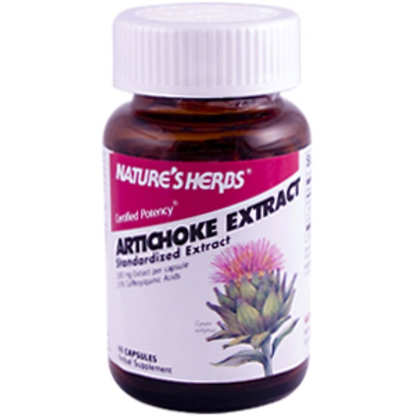 Nature's Herbs, Artichoke Extract, 60 Capsules (Discontinued Item)