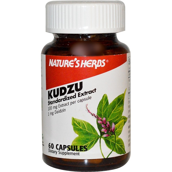 Nature's Herbs, Kudzu, 100 mg, 60 Capsules (Discontinued Item)