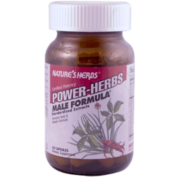 Nature's Herbs, Male Formula ( Power Herbs ), 60 Capsules (Discontinued Item)
