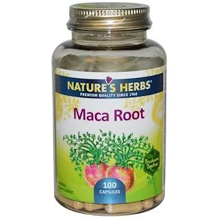 Nature's Herbs, Maca Root, 100 Capsules