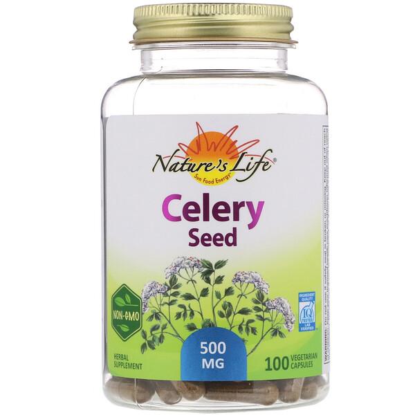 Celery Seed, 100 Vegetarian Capsules