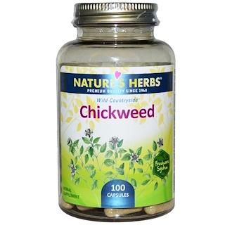 Nature's Herbs, Chickweed, 100 Capsules
