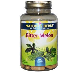 Натурес Хербс, Bitter Melon, 100 Capsules отзывы