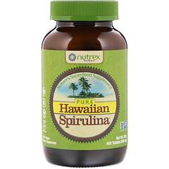 Nutrex Hawaii, سبيرولينا نقية من الهملايا، 500 ملغ، 400 قرص