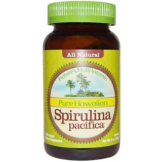 Nutrex Hawaii, Pure Hawaiian Spirulina Pacifica, Nature's Multi-Vitamin, Powder, 5 oz (142 g)
