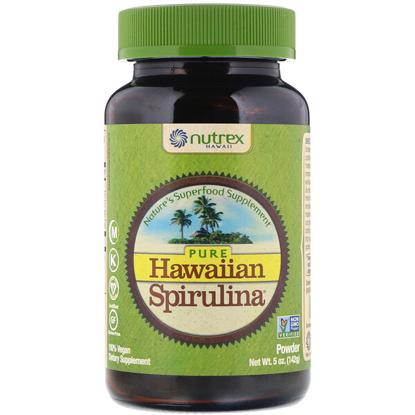 Pure Hawaiian Spirulina, Powder, 5 oz (142 g)