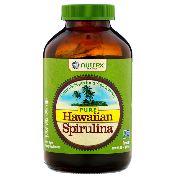 Nutrex Hawaii, Pure Hawaiian Spirulina, Powder, 16 oz (454 g)