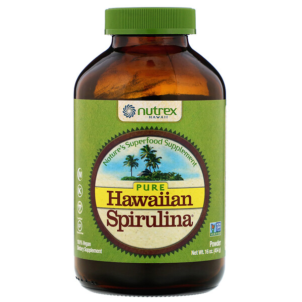 Pure Hawaiian Spirulina, Powder, 16 oz (454 g)