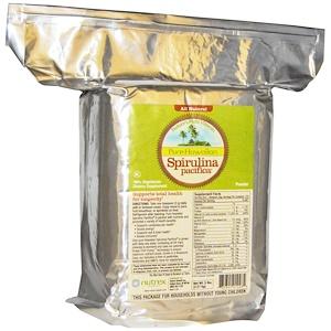 Nutrex Hawaii, Чистая гавайская тихоокеанская спирулина, природный мультивитамин, порошок, 2,27 кг (5 фунтов)