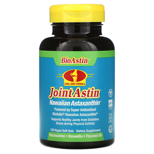 JointAstin, Hawaiian Astaxanthin, 120 Vegan Soft Gels