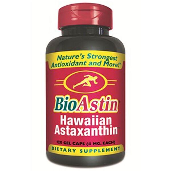 Nutrex Hawaii, BioAstin, Hawaiian Astaxanthin, 4 mg, 120 Gel Caps (Discontinued Item)